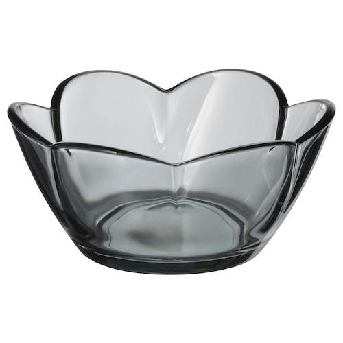 VANLIGEN tealight holder grey 4 cm 9 cm