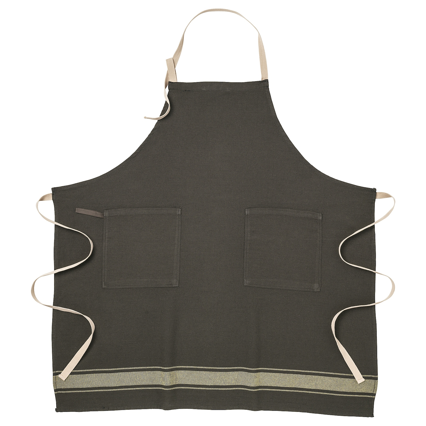 IKEA VARDAGEN apron The neck-band can be adjusted to fit everybody.