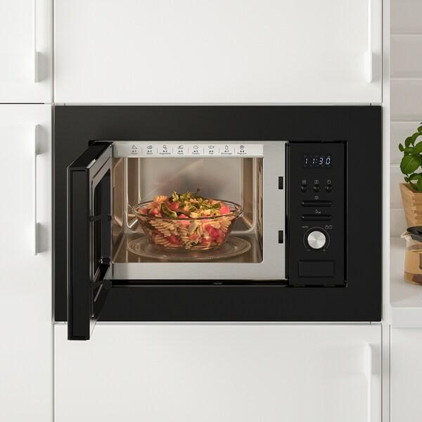 VÄRMD Microwave oven black