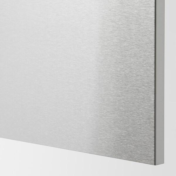 VÅRSTA Cover panel, stainless steel, 62x80 cm