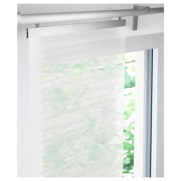 VATTENAX panel curtain white/white 300 cm 60 cm 1.80 m²