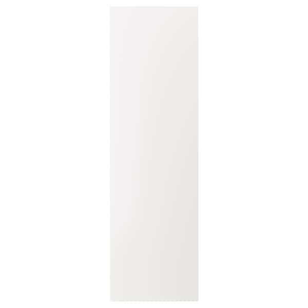 VEDDINGE Door, white, 60x200 cm