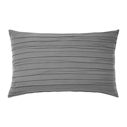 ikea veketg cushion cover the pleated surface gives the cushion cover a ruffled texture