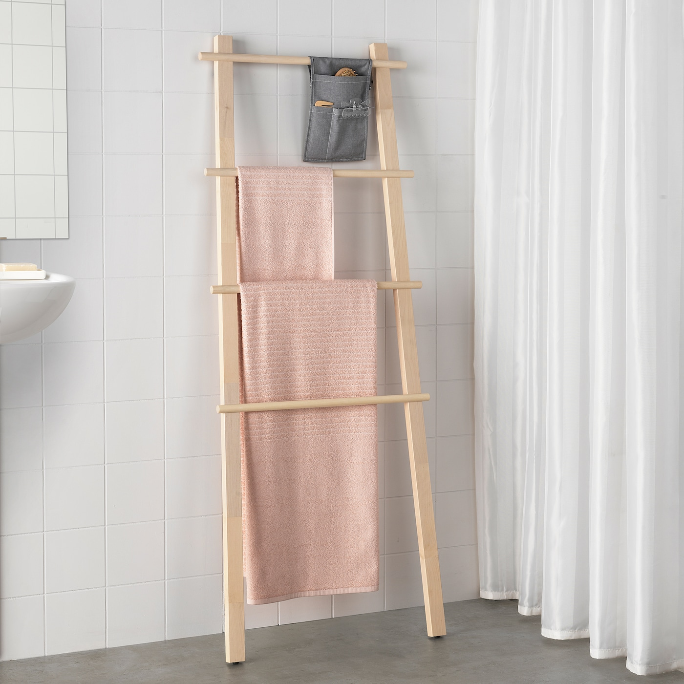 VILTO Towel stand - birch