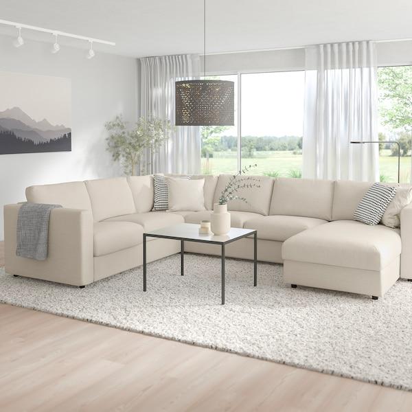 VIMLE Corner sofa, 5 seat with chaise longueGunnared