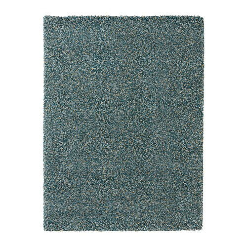 Vindum Rug High Pile Blue Green 170 X 230 Cm Ikea
