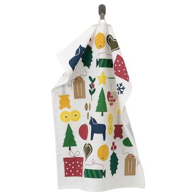 VINTER 2021 Tea towel, Christmas pattern multicolour, 50x70 cm