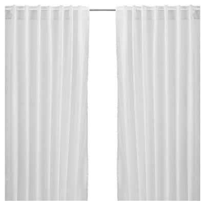VIVAN Curtains, 1 pair, white, 145x150 cm