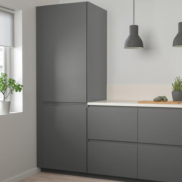 VOXTORP Door, dark grey, 40x80 cm
