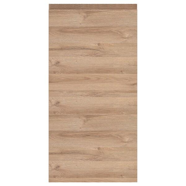 VOXTORP Door, oak effect, 40x80 cm