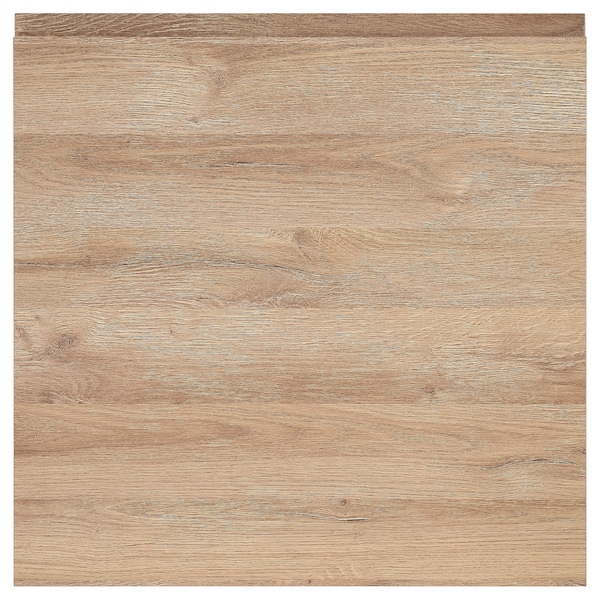 VOXTORP Door, oak effect, 60x60 cm
