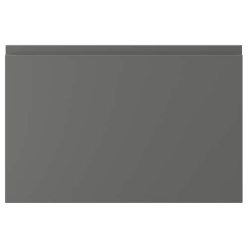 VOXTORP drawer front dark grey 59.6 cm 39.7 cm 2.1 cm