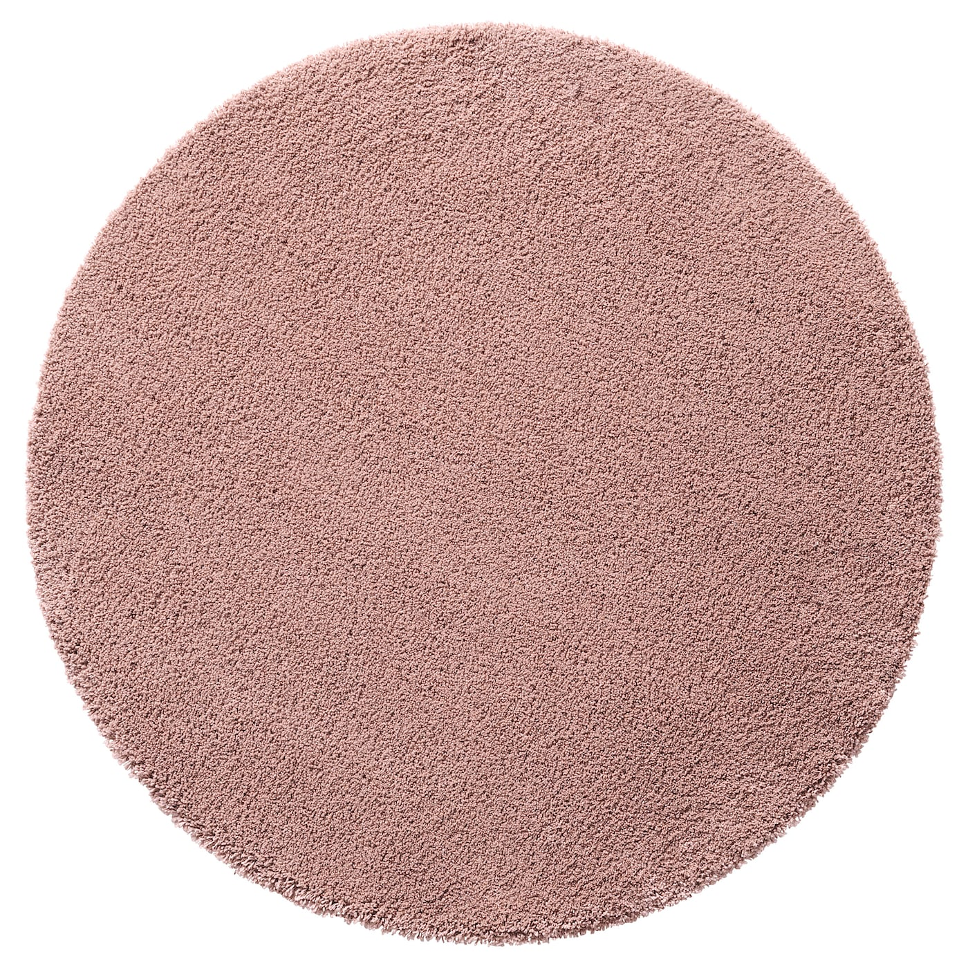 Dum Alfombra Pelo Largo Rosa Claro 130 Cm Ikea