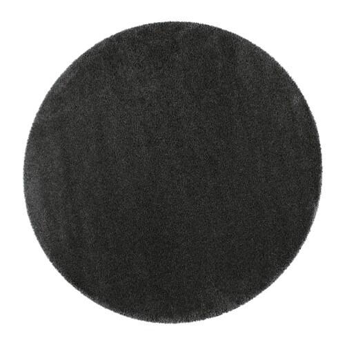 Dum alfombra pelo largo 195 cm ikea - Alfombra redonda pelo largo ...