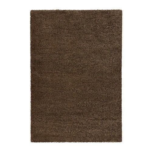 ÅDUM  - catifa, pèl llarg, 133x195, marró clar