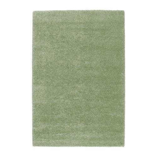 ÅDUM  - catifa, pèl llarg, 133x195, verd clar