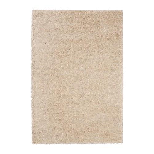 ÅDUM Alfombra, pelo largo IKEA De pelo denso y grueso, crea una superficie suave para los pies y amortigua el sonido.