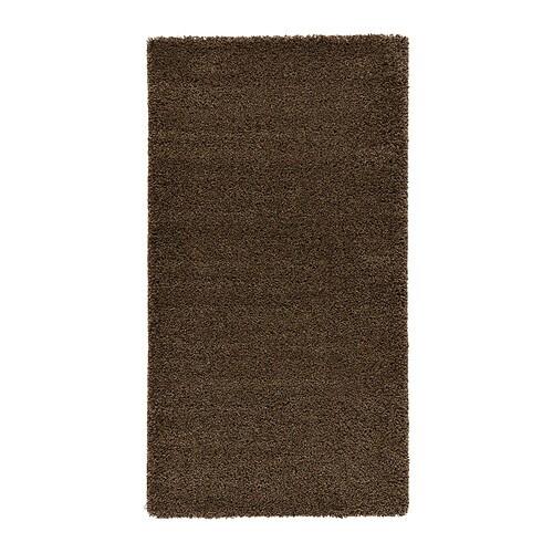 Dum alfombra pelo largo 80x150 cm ikea for Alfombra negra pelo largo