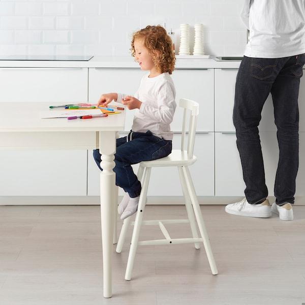 AGAM Silla alta para niños, blanco