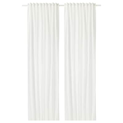 AINA Cortina, 1par, blanco, 145x300 cm