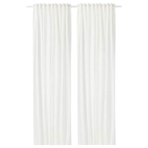 AINA cortina, 1par blanco 300 cm 145 cm 2.00 kg 4.35 m² 2 unidades