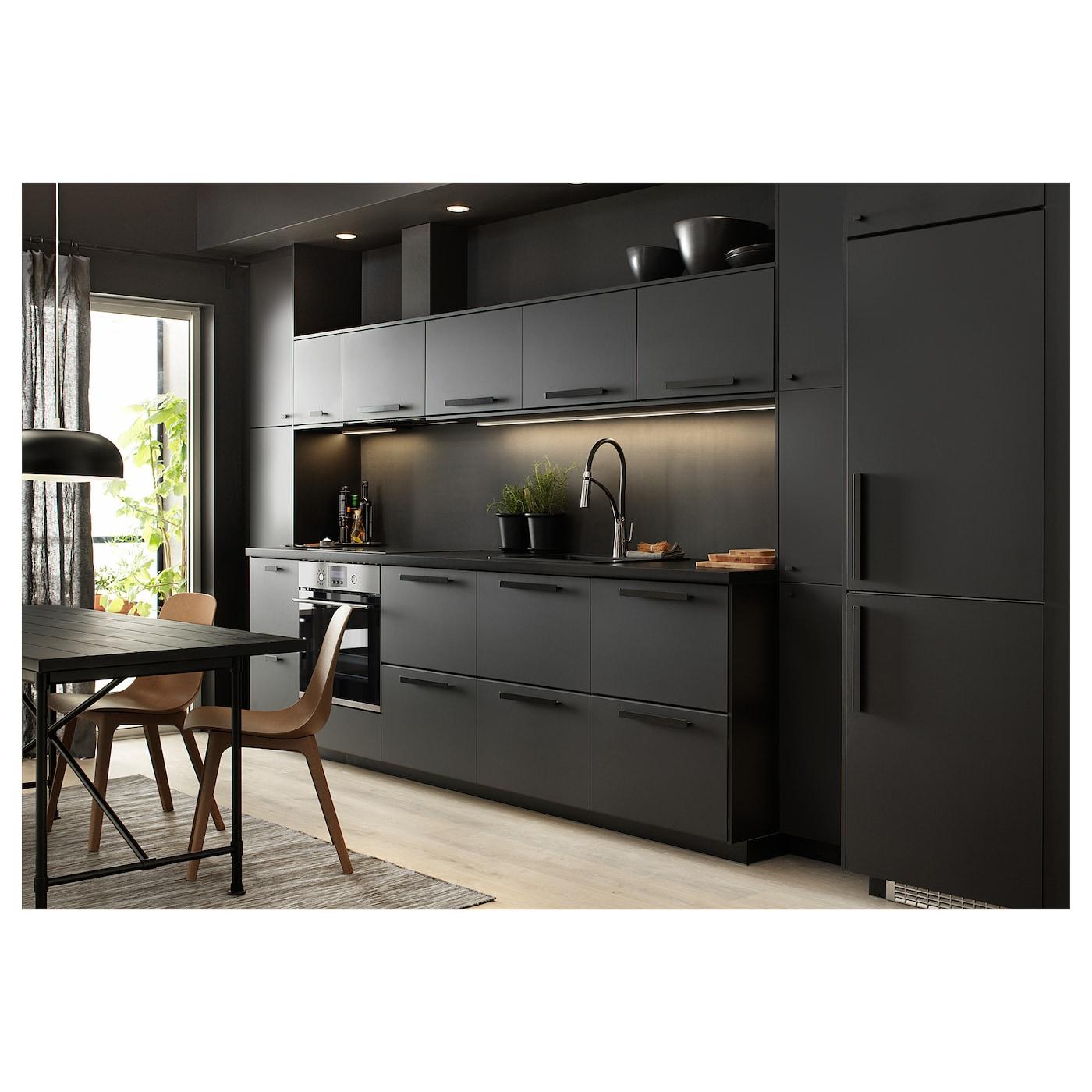 Alesk r grifo de cocina con ducha cromado negro ikea - Grifo para cocina ...