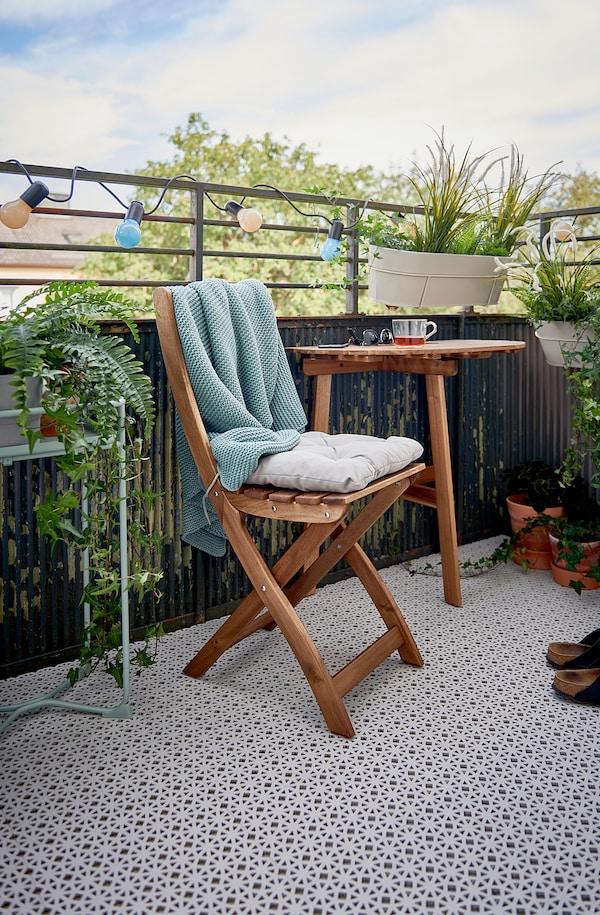 ALTAPPEN Suelo exterior / suelo terraza, gris claro, 0.81 m²