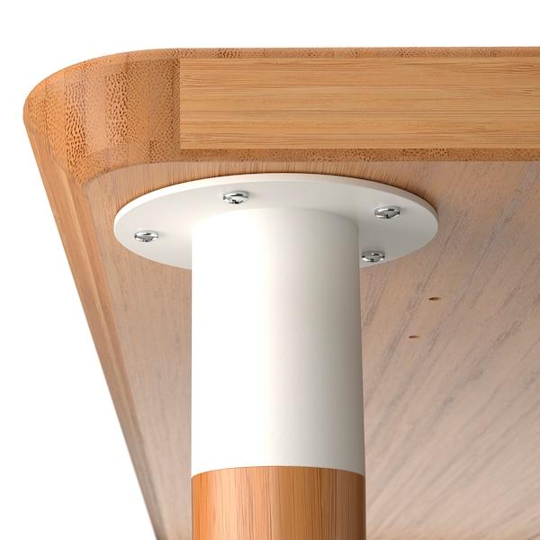 ANFALLARE / HILVER Escritorio, bambú, 140x65 cm