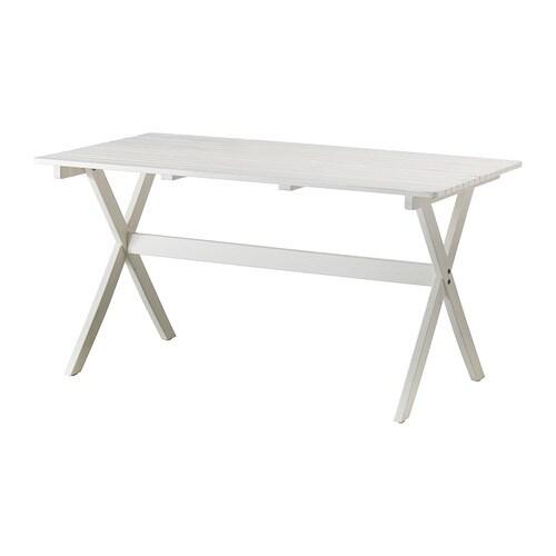 Ngs mesa ext blanco ikea - Mesa exterior ikea ...
