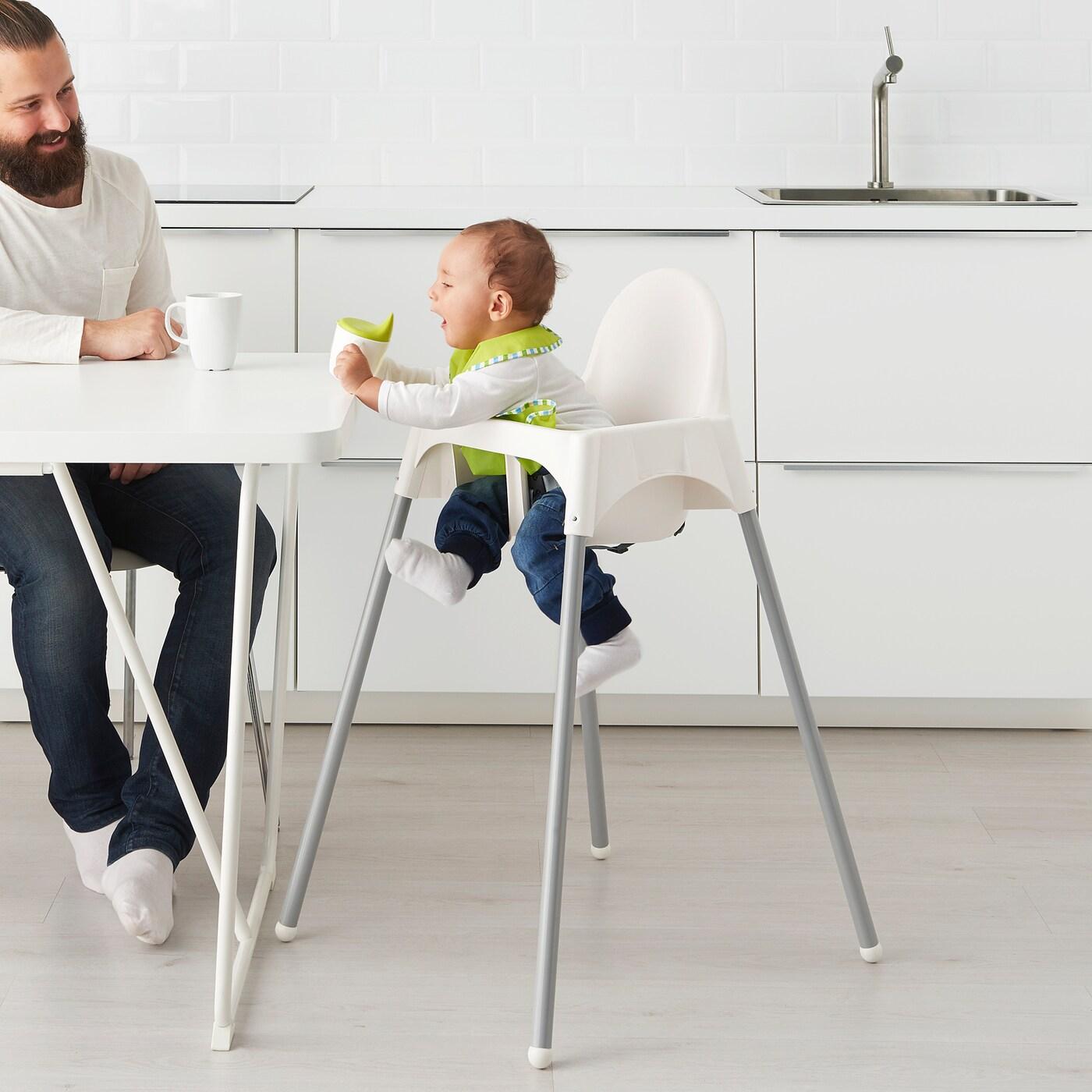 Bebé Trona con Correas De Seguridad /& Juego Bandeja Ikea antilop Trona Bebe