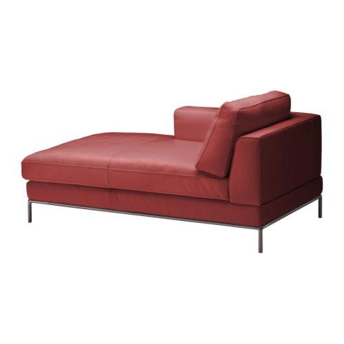 Chaiselongues de piel for Arild chaise longue