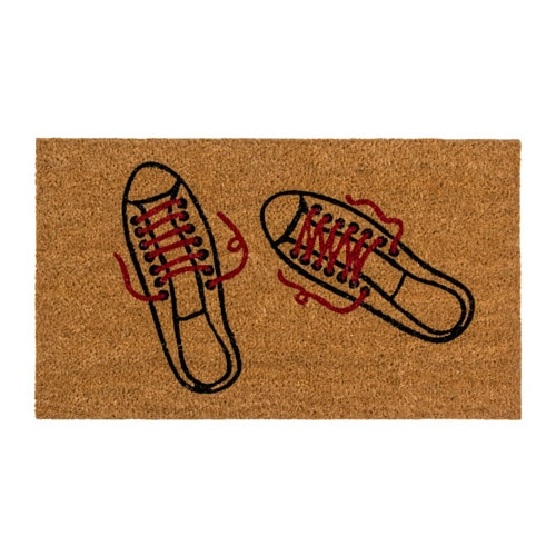 Felpudo zapatillas.