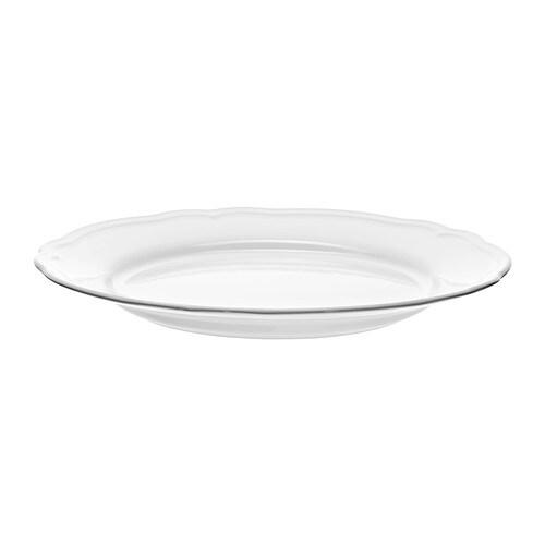 Arv plato 32 cm ikea for Plato blanco