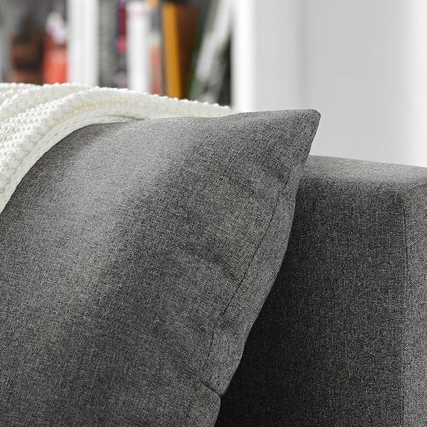 ASARUM Sofá cama 3 plazas, gris