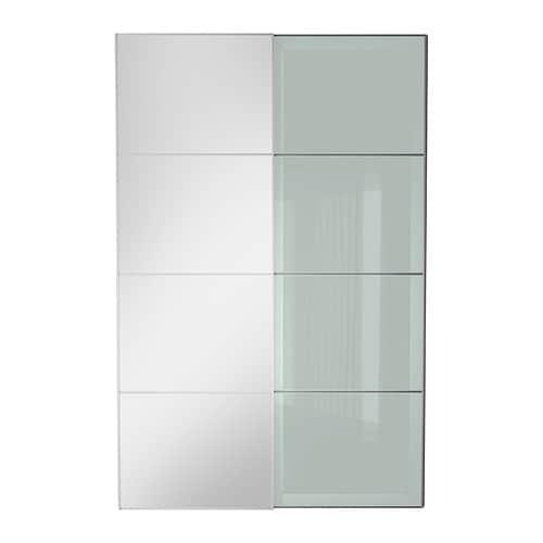 Auli sekken puertas correderas 2 uds 150x236 cm ikea - Puertas correderas de cristal ikea ...