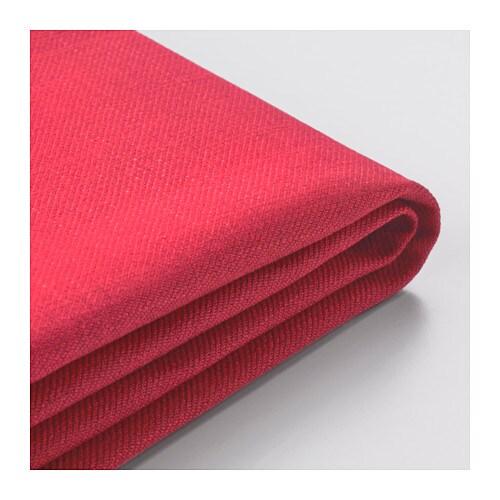 Backabro funda sof cama con chaiselongue nordvalla rojo for Sofa cama con cajones ikea