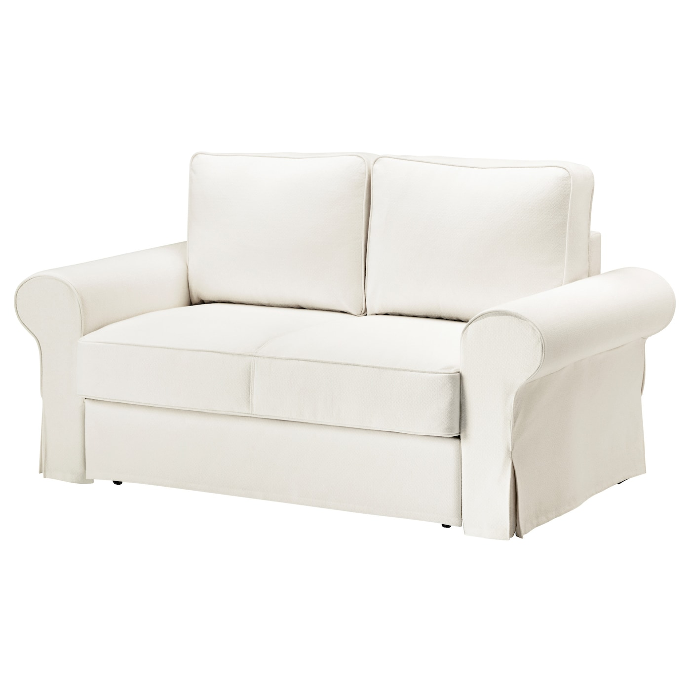 Backabro sof cama 2 plazas hylte blanco ikea for Sillones cama de dos plazas