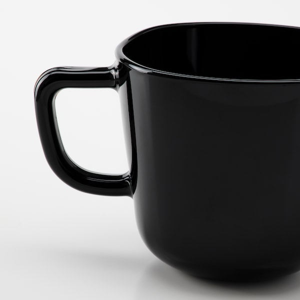 BACKIG Tazón, negro, 37 cl