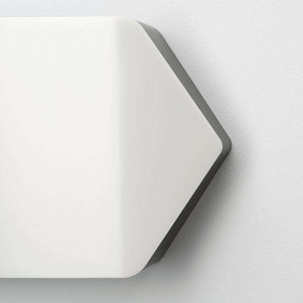BÄGAREN Lámpara pared, flecha blanco/negro