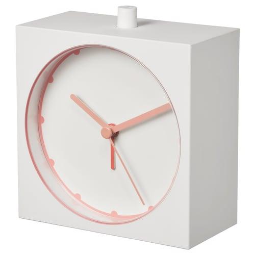 BAJK despertador blanco 5 cm 11 cm 10 cm