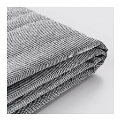 Beddinge funda para sof cama de 3 plazas knisa gris claro ikea - Ikea fundas de sofas ...