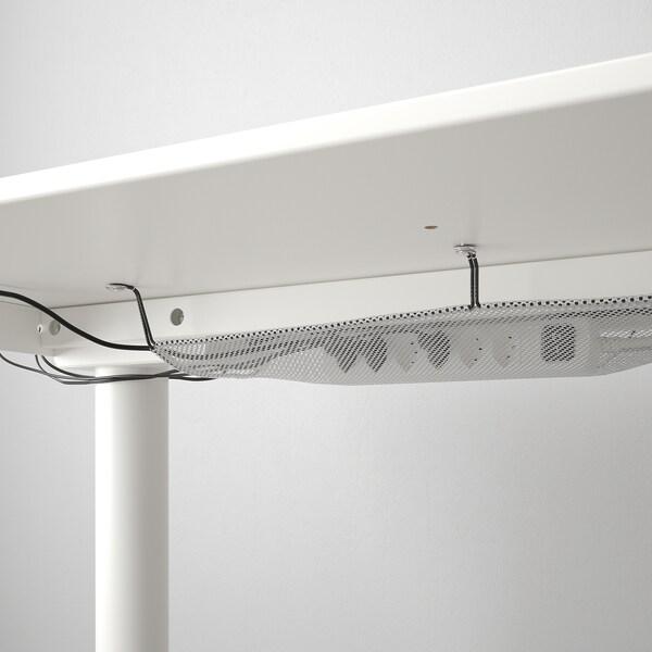 BEKANT escritorio sentado/de pie blanco 120 cm 80 cm 65 cm 125 cm 70 kg