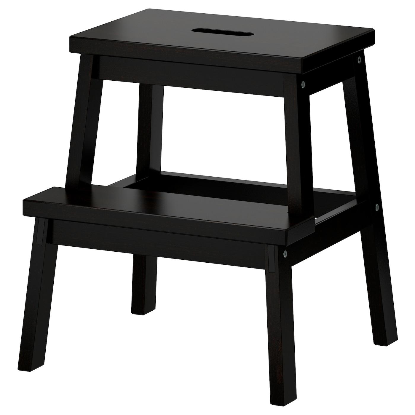 Bekv 196 M Taburete Escal 243 N Negro 50 Cm Ikea