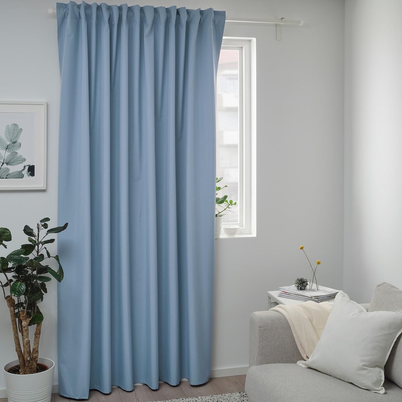 cortinas a media altra ventana ikea