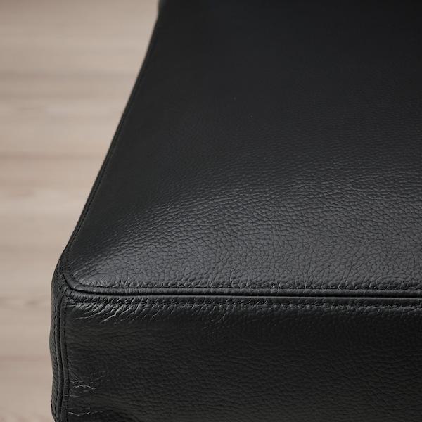 BERGMUND Silla, negro/Glose negro