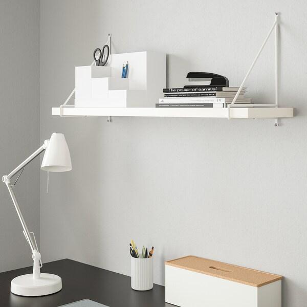 BERGSHULT PERSHULT Estante, blanco, blanco, 80x20 cm IKEA