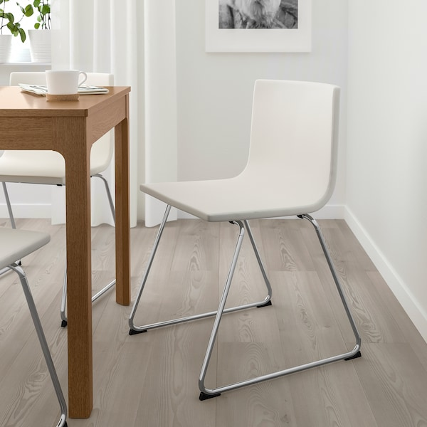 silla cromada comedor ikea