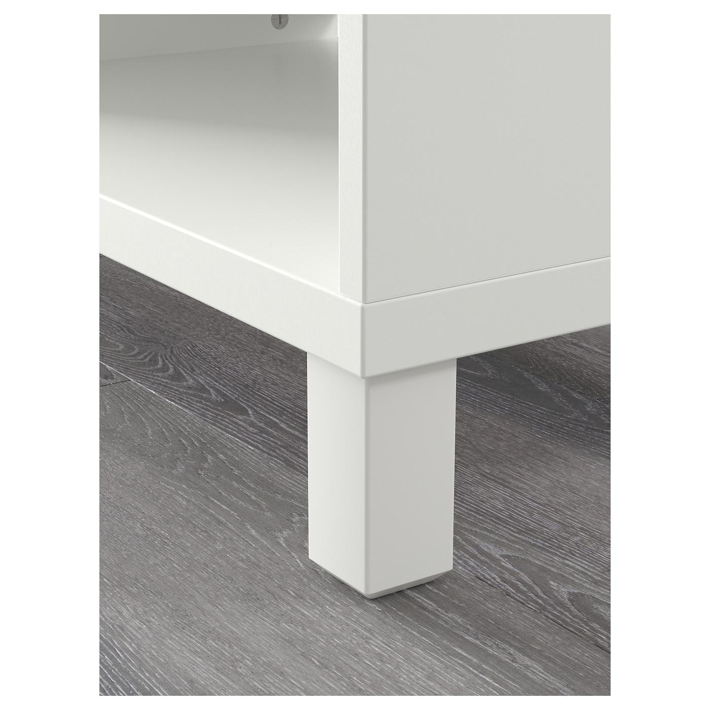 Best mueble tv blanco 120 x 40 x 48 cm ikea - Mueble blanco ikea ...