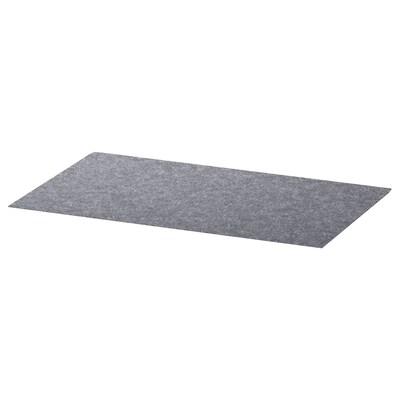 BESTÅ Alfombrilla para cajón, gris, 32x51 cm