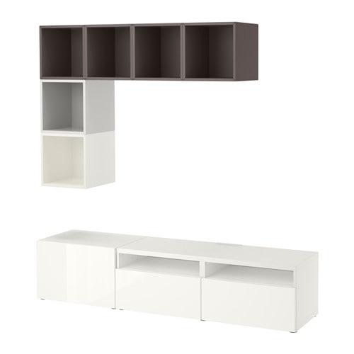 Encuentra tu combinado de muebles de salón con BESTÅ - IKEA
